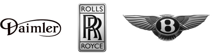 Daimler Rolls Royce Bentley badges